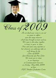 commencement announcements sles of graduation announcements exles of graduation