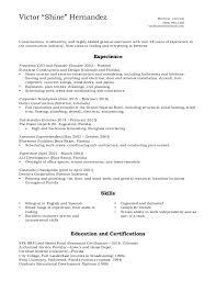 Roofing Skills Resume Resume