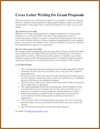 6 proposal cover letter letter format for