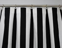 Striped Curtain Panels Horizontal Navy Blue And White Horizontal Striped Shower Curtain