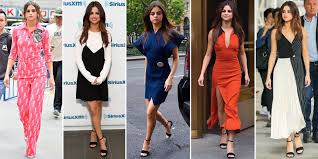 selena gomez wears six different in one day