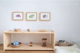 Montessori Weaning Table by How We Montessori