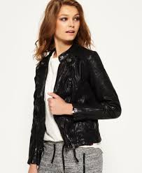fashion womens leather jackets ladies superdry