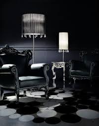 black furniture living room doves dangling from shades black interior designers best of