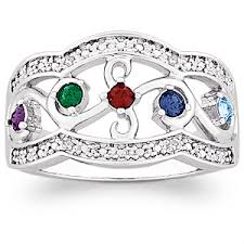 mothers rings with birthstones affordable mothers rings rings for 50 that don t look cheap