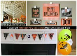 halloween party table ideas easy halloween party decoration ideas play party plan