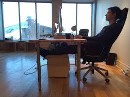 Office Chair On Laminate Floor Why I Killed My Standing Desk U2013 The Startup U2013 Medium