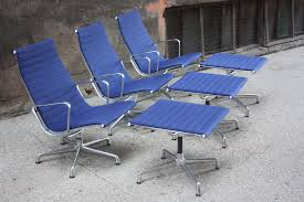 Herman Miller Lounge Chair And Ottoman by Optimistic Charles And Ray Eames Aluminum Group Lounge Cha U2026 Flickr