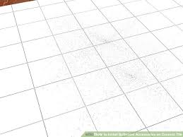 how to install bathroom accessories on ceramic tile 11 steps