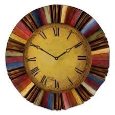 Decorative Metal Wall Clocks Buy Home Decor Metal Wall Clock From Bed Bath U0026 Beyond