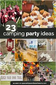 campout birthday party birthday party ideas