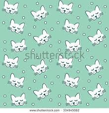 cat lubok folk style stock vector 328129148
