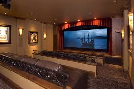 view home theater speakers in wall or ceiling decorating idea