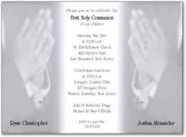 communion invitations for boys babies children baptism communion invitations communion boys w
