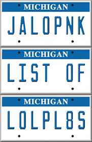 Make Your Own Vanity Plate 20 More Hilarious Personalized License Plates