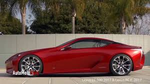 lexus lf lc performance lexus lf lc 500 2017 u0026 lexus rc f 2017 youtube