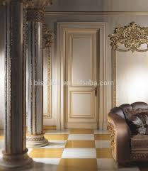 painted door frame with gold leaf antique luxury gold