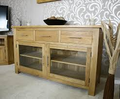 Media Console With Hutch Sideboards Outstanding Buffet Cabinets With Glass Doors Buffet