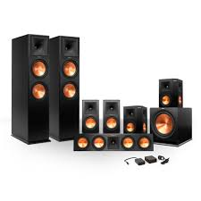 7 1 home theater system klipsch 7 1 rp260 premiere speaker bundle w sub u0026 free wireless