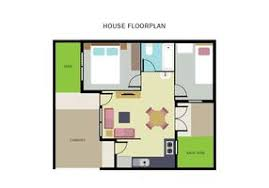 The Notebook House Floor Plan Free Floorplan Of A House Vector Download Free Vector Art Stock