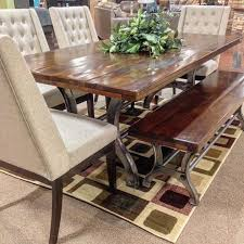 Dining Tables  Ashley Furniture D  Corner Nook Dining Sets - Ashley furniture dining table bench