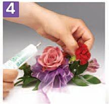 how to make a wristlet corsage easy to make wrist corsage wedding flower tutorial