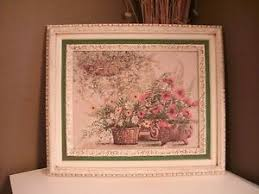 home interiors and gifts pictures vintage home interiors gifts no 1795 cw floral still white