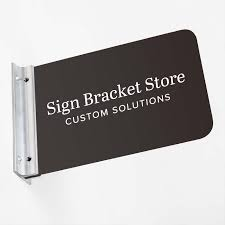 wall mounted sign holder direct sign mounts corridor sign holders