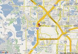 Orlando Florida Comfort Inn Map Of Comfort Inn International Orlando