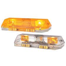 amber mini light bar excalibur rotator led mini light bars gempler s