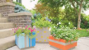 Cheap Planter Boxes by Make Large Outdoor Planter Boxes From Patio Pavers Diy