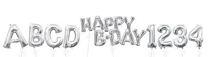 letter balloons letter balloons everyday balloons party city
