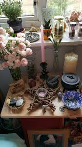 best 20 wiccan altar ideas on pinterest altars crystal altar