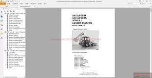 case backhoe manuals ebay