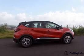 captur renault 2017 renault captur suv launched prices 9 99 lakh to 13 38 lakh