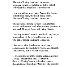 Massachusetts Travel Poems images Elizabeth bishop one art a sea of quotes poetry pinterest png