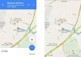 distance between two points map how to measure distance between two points on maps android