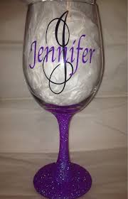 diy monogram wine glasses 56 best etsy images on etsy shop net shopping and