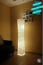 light shades for floor ls lumisource radiance floor l clear multi lava l amazon com