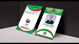 id card graphic design how to make professional business id card mock up in photoshop youtube