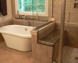 home decor bathroom white bathtub near tile window plus glass