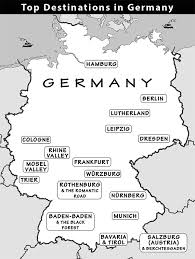 map of germany cities germany travel guide by rick steves