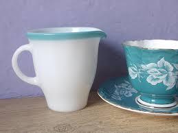 thanksgiving dinnerware tableware vintage 1940 u0027s pyrex glass creamer milk glass creamer retro