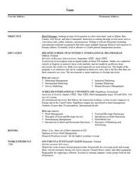 Written Resume Examples by Examples Of Resumes For Jobs With No Experience Http Www