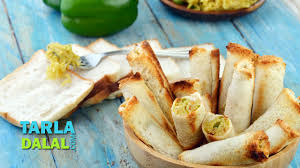 cheesy maggi bread rolls simple snack easy to make party starter