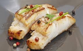comment cuisiner le filet de colin recette poisson colin cool recette de poisson le colin sur lit de