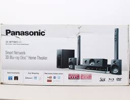 home theater blue ray panasonic sc btt465 1000w smart network 3d home theater system