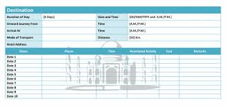 Travel Budget Template Excel Travelling Budget Template Microsoft Office Templates