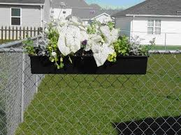 Hanging Planter Boxes by Best 25 Fence Planters Ideas On Pinterest Wooden Garden
