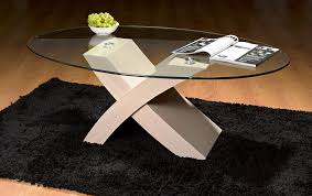 Oval Glass Coffee Table by Milano X Coffee Tables Oval Glass Beech Amazon Co Uk Kitchen